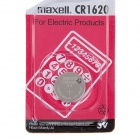 Maxell CR1620 Lithium Button Battery - Silver