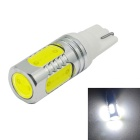 JIAWEN T10 500lm 6500K White Light LED Bulb for Car Instrument/Reading/Side Marker Lamp (DC 12V)