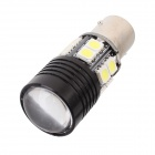 MZ 1157 12-5050 SMD 3W + 1 XP-E 5W White 550lm Car Light (12~24V)