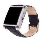 DM08 Bluetooth Smart Watch w/ Calls, SMS for Android, IPHONE - Silver