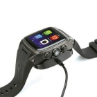 X01 Android 4.2 Dual-Core Watch Phone w/ 512MB RAM, 4GB ROM - Black