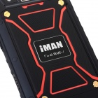 iMAN i6800 Android 4.4 3G Phone w/ 1GB RAM, 8GB ROM - Black + Red