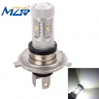 MZ H4 30W 1500lm 6500K White  Light 6-XT-E LED Car Fog / Backup Light w/ Constant Current (12~24V)
