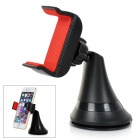 360 Degree Rotation Car Suction Cup Stand Holder Mount Bracket for GPS / Cell Phone - Black + Red