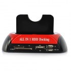 All-in-1 Dual HDD Docking Station w/ One Touch Backup (UK Plug)
