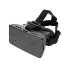 "Universal Virtual Reality 3D & Video Glasses for 4~7"" Phones - Black"