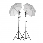 GODOX S45T-F Photography Studio Umbrella Light Lamp - Black + White + Multi-Color (AC 200~240V)