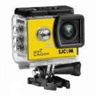 SJCAM SJ5000 WiFi 2.0'' TFT 14MP 1080P 60FPS Full HD CMOS Action Sport Camera - Yellow + Black