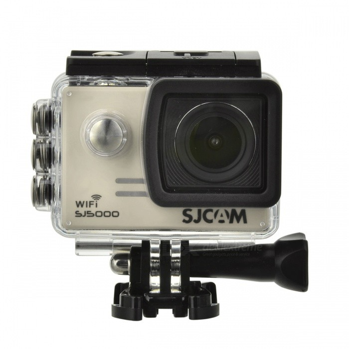 "SJCAM SJ5000 Wi-Fi 2.0"" TFT 14MP 1080P Action Camera - Silver + Black"