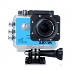 SJCAM SJ5000 WiFi 2.0'' TFT 14MP 1080P 60FPS Full HD CMOS Action Sport Camera - Black + Blue