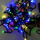 IN-Color 2W Solar Powered Colorful Light 48-LED String Light