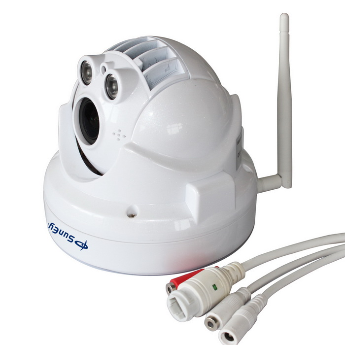 "SunEyes SP-P1802SWPTZ 1/2.8"" CMOS 2.0MP 1080P Wireless PTZ Dome IP Camera w/ 2-IR LED / US Plug"