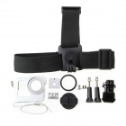 Handy Outdoor Mounting Kit Set voor GoPro Sports Camera - Zilver + Zwart