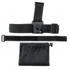 Plastic Band + Wrist Hand Band + Storage Bag Pouch for GoPro Hero 3+ / 3 / 2 / 1 - Black