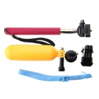 Monopod Selfie Stick + Float Grip + Mini staande Mount Converter Pack voor GoPro Hero 3 +/ 3/2/1