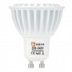 Lexing dimmable GU10 6W 350lm holofote bulbo branco fresco (ac 220 ~ 240V)