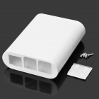 ABS Enclosure Case Shell Cover Housing for Raspberry Pi 2 Model B / B+ - White