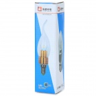 LeXing Lighting E27 4W 4-LED 300lm 3500K Warm White Lamp (85~265V)