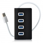 BSTUOW15 4-Port Super Speed USB 3.0 Hub - Black