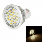 LeXing Lighting Dimmable 6W GU10 LED Spotlight Warm White 350lm 3500K 15-SMD 5730 (AC 220~240V)