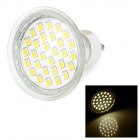 LeXing Lighting GU10 2W LED Spotlight Warm White 3500K 140lm SMD 2835 - Yellow + Silver (AC220~240V)