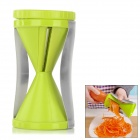 Handy Infundibular Style ABS + Stainless Steel Shredder Grater - Green + Silver