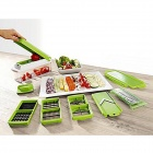Grater Slicer Chopper Dicer Vegetable Salad Fruit Cutters Set - Green