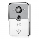 WB-0407-1 Wireless Wi-Fi Smart Visible Doorbell w/ Infrared Night Vision for Phone / Tablet