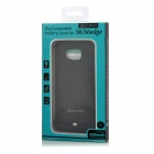 Mini Smile 4000mAh Rechargeable Battery Case for Samsung S6 - Black