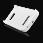 Mini Smile 4000mAh Rechargeable Battery Case for Samsung S6 - White