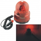 Carking 12V Car Vehicle Revolving Red Light Warning Light Caution Light w/ Magnetic Base
