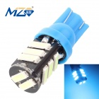 MZ T10 5.5W 660lm Ice Blue 11-SMD 7020 LED Car Clearance Lamp / License Plate / Steering Light (12V)
