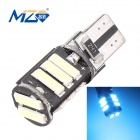 MZ T10 5.5W LED Car Clearance Lamp Ice Blue Light 465nm 660lm 11-SMD 7020 Canbus Error-Free (12V)