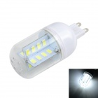 Marsing G9 5W Cross Design Light Lamp Cold White 6500K 500lm SMD 5730 - White + Yellow (AC220~240V)