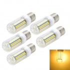 Marsing E27 10W LED Corn Bulbs Warm White 3000K 1000lm SMD 5730 (AC 220~240V / 5 PCS)