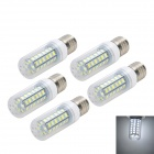 Marsing E27 8W LED Corn Bulb 48-SMD 5730 Cool White Light 800lm 6500K (AC 220~240V, 5 PCS)