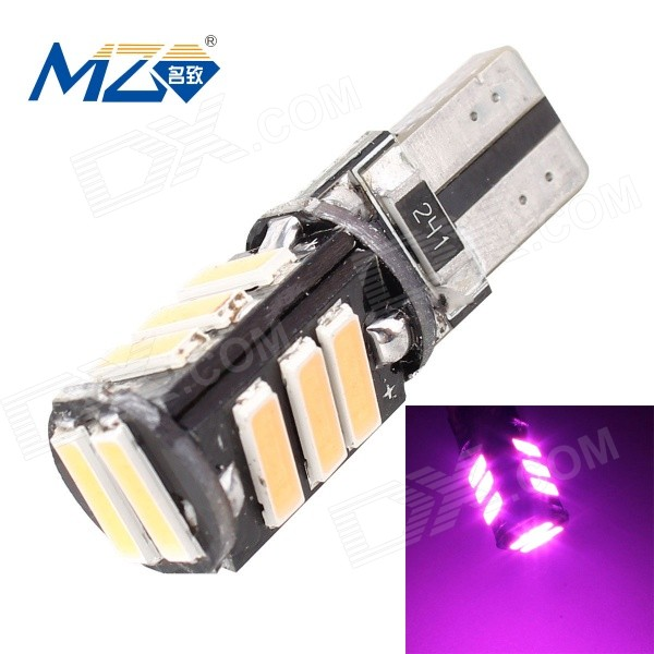 MZ T10 5.5W 452.5nm 660lm 11-SMD 7020 Pink Car Lamp (12V)