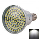 WaLangTing E14 4W Spotlight White Light 6500K 320lm SMD 2835 - Silver (AC 220~240V)