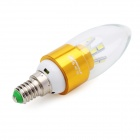 ZHISHUNJIA E14 7W 560lm 15-5630 LED Cold White Light Candle Lamp