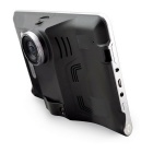 "Q800 7"" HD 720P Android 4.4 GPS -навигатор DVR радар MEX карта - черный"