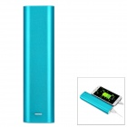 DIY 5V USB Output 4 x 18650 Flat-Top Batteries Mobile Power Bank Box Case w/ LED Indicator - Blue