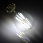 E27 8W 8-LED 750lm Cold White Light Bulb Lamp (AC 100~240V)