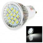 LeXing Lighting GU10 6W Dimmable LED Spotlight White Light 6500K 350lm SMD 5730 (AC 220~240V)