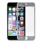 Titanium Alloy + Tempered Glass Full Screen Protector Guard for IPHONE 6 - Grey + Transparent