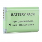 Mini Smile Battery, US Charger, EU Adapter for Canon G1X Mark II N100