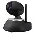 GeekRover 1.0 MP 720P Indoor P2P Wi-Fi Baby Monitor Camera - Black