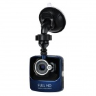 "2.4"" TFT FHD 1080P CMOS 140' Wide-Angle Car DVR Camera Camcorder w/ LED Night Vision - Black"