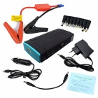 6000mAh Car Emergency Launcher Jump Starter Power Bank w/ LED Torch + USB Output - Black + Blue