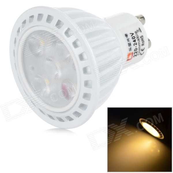 Lexington iluminación GU10 6W dimmable 350lm SMD 2835 lámpara blanca caliente