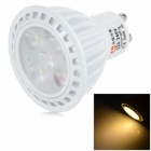 LeXing Lighting GU10 6W Dimmable LED Spotlight Warm White 3500K 350lm SMD 2835 (AC 220~240V)